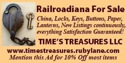 Times Treasures Railroadiana