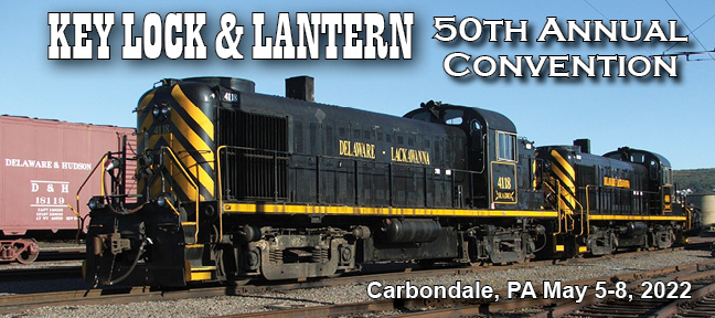Key Lock and Lantern Convention Delaware Lackawanna Alco Locomotives